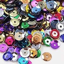 Sequins, 1600 Pcs Round Multiple Color DIY Crafts Decorations