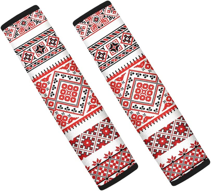 Dreaweet OFFicial site Boho Red Ranking TOP2 Geometric Design Car Strap Seat for Covers Bab