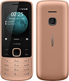 Nokia 225 4G (Official Australian Version) 2020 Basic Unlocked Mobile Phone with Bonus 16GB MicroSD Card, Internet Connect...
