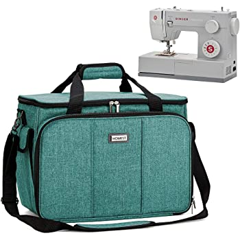Xgood Sewing Machine Carrying Bag Sewing Machine Carrying Case with Shoulder Universal Tote Bags for Sewing Machines Accessories