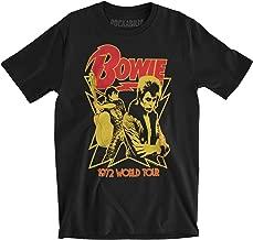 David Bowie - 1972 World Tour Soft T-Shirt