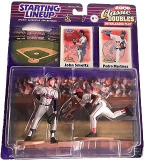 2000 John Smoltz / Pedro Martinez Classic Doubles MLB Starting Lineup