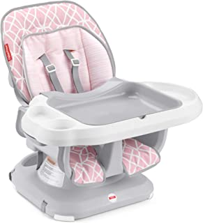Fisher-Price­ SpaceSaver - Silla alta para bebé, Rosado