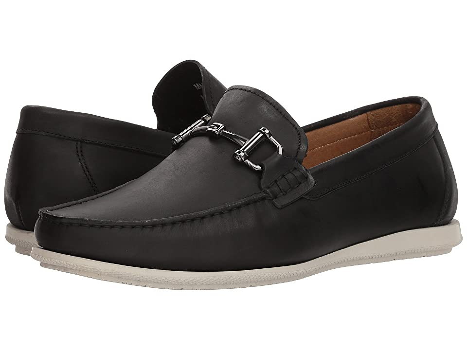 Massimo Matteo Oiled Nubuck Bit Driver (Black) Men