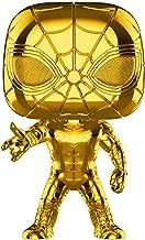 Funko 38482 POP. Bobble Marvel Studios 10: Iron Spider (Chrome) Collectible Figure, Multicolour