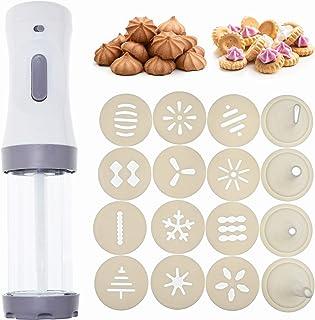 DIY Cookie Making and Cake Decoration Tool kit for Baking Cookie Making kit YOYOLIFE Electric Cookie Press