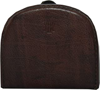 Laveri Dark Brown Leather For Unisex - Coin Purses & Pouches
