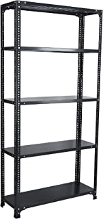 Mil-Nil® Prime CRC Sheet 5 Shelf Multipurpose Storage Rack, 72 x 36 x 12 Inch, 24 Gauge (Grey)