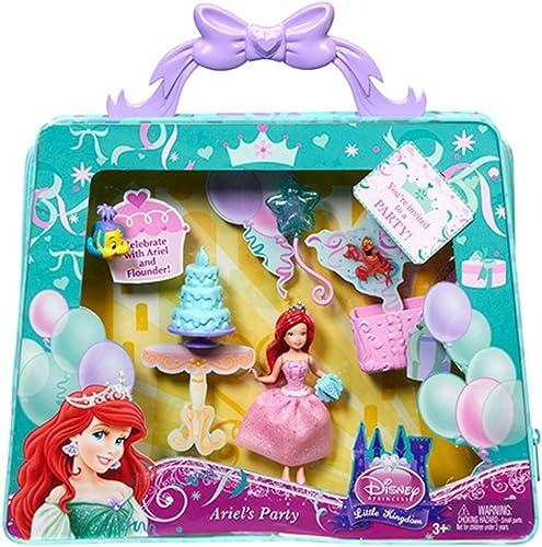 Más asequible Disney Princess Y1444 Little Kingdom ARIEL Party Doll & Carry Carry Carry Bag  el mejor servicio post-venta