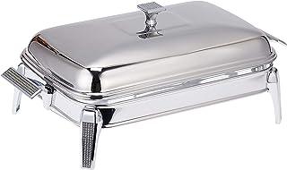 Regent H2509640 Glitter Stainless Steel Rectangular 3 Liters Warmer - Multi Color