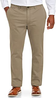 Amazon Essentials Men's Tapered-Fit Broken-in Stretch Chino Pant fit by DXL