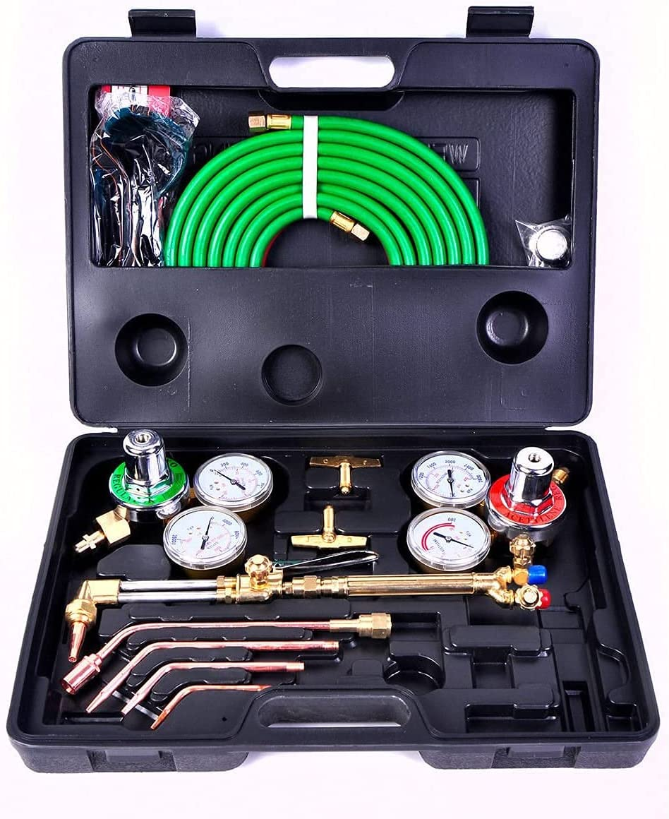 Favorite-trade Gas Baltimore Mall Welding Latest item Cutting Kit Acetylene Oxygen Oxy Torc