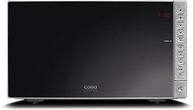 Caso HCMG 25 HCMG25-Microondas, 900 W, 25 litros, Negro, Acero Inoxidable