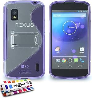 ' Muzzano 保护套适用于 Lg Nexus 4 紫罗兰色 viola