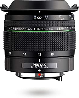 HD PENTAX-DA Fish-Eye 10-17mm F3.5-4.5 ED Ultra Wide Angle Zoom Lens Compact and Lightweight Diagonal fisheye Lens for K-1 II K-70 KP DSLR Cameras