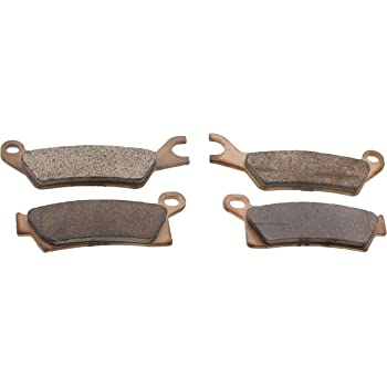 2015 2016 Can-Am Outlander L DPS 450 Front /& Rear Brake Pads Brakes Severe Duty