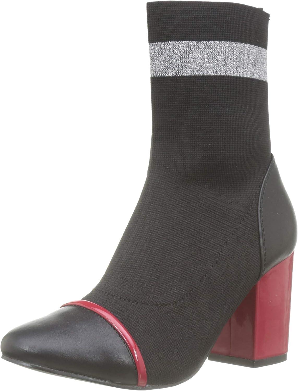 再再販 GIOSEPPO Women's Slouch Black Boots 入手困難