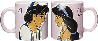 Disney Princess Jasmine & Aladdin Kiss Pair Mug Cups (Japan Import)