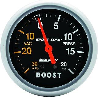 AUTO METER 3401 Sport Comp Mechanisches Boost /Vakuum Messgerät