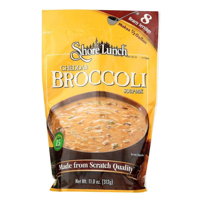 Shore Lunch Kansas City Mall Cheddar Broccoli Baltimore Mall Soup Mix 6 -- Ounce per 11 case.