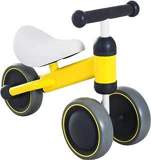 HOMCOM Triciclo Bicicleta sin Pedales para Niños 18-24