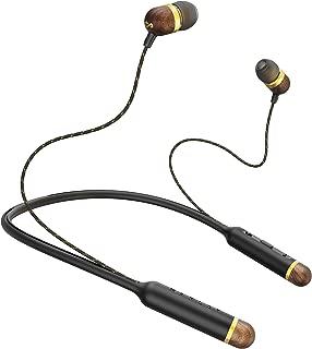 House of Marley Smile Jamaica Wireless Bluetooth Neckband Headphones, Brass