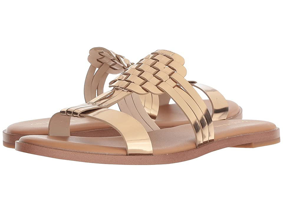Cole Haan Findra Woven Sandal (Signature Gold) Women