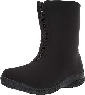 Propet Women's Madi Mid Zip Snow Boot, Black, 8H 2E 2E US