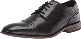 قبعة Lamont للرجال من Bostonian, (Black Leather), 9 Wide