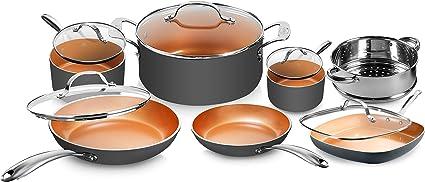 Pots and Pans 12-Piece Cookware Set
