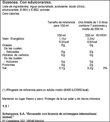 La Casera - Gaseosa - Botella 1,5 L - , Pack de 6