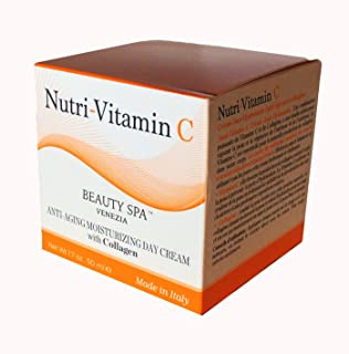 Nutri-Vitamin C Anti Aging Moisturizing Day Cream with Collagene