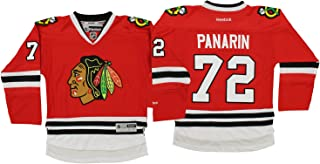 NHL Big Boys Youth Chicago Blackhawks Art Panarin #72 Player Jersey, Red