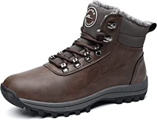 Womens Mens Hiking Boots Waterproof Winter Outdoor Non...