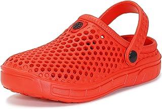 Zuecos y Mules Jardín para Niños Zapatillas de Verano Niñas Piscina Sandalias de Playa Antideslizante Pantuflas Zapatos 24-36