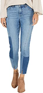 Seam-Detailed Curvy-Fit Skinny Jeans