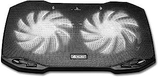KLIM Pro - وسادة تبريد الكمبيوتر المحمول للمهنيين + خفيفة، مضغوطة، سهلة الحمل، متينة + 10 بوصة إلى 15.6 بوصة + منفذ USB إض...
