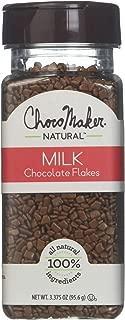 ChocoMaker R Natural Milk Chocoflakes 3.375oz