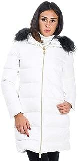 PEOPLE OF SHIBUYA Luxury Fashion Womens HIKOPM835007 White Down Jacket | Fall Winter 19