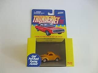Johnny Lightning ThunderJet 500 - HO Scale - Pull Back Action Willys YELLOW