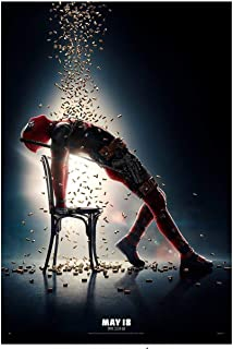 Zolto Poster Rare Poster Marvel Deadpool 2 Flashdance 2018 Ryan Reynolds 12x18
