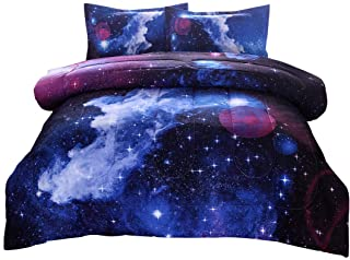 Jqinhome Full 3 Piece Galaxies