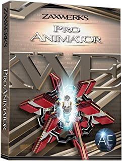 Zaxwerks ProAnimator AE v8.0.2 Sidegrade from 3D Invigorator Pro | After Effects 3D Motion Graphics Plug in Electronic Delivery