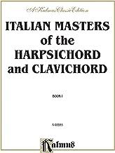 الإيطالي Masters of the harpsichord & clavichord ، (1: قطعة من الإكسسوارات التي تربط القطع بواسطة corelli ، frescobaldi ، porpora ، scarlatti ، tartini ، vivaldi (إصدار kalmus)