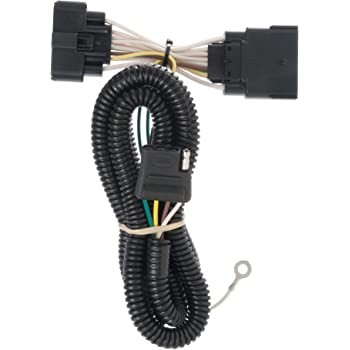 Amazon.com: CURT 56172 Vehicle-Side Custom 4-Pin Trailer Wiring Harness,  Select Ford Explorer: AutomotiveAmazon.com