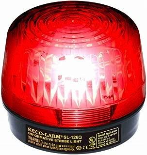 SECO-LARM SL-126Q/R Red Security Strobe Light (1)