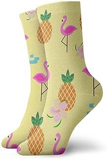 Elsaone, Calcetines de calavera de piñas divertidas locas para niños