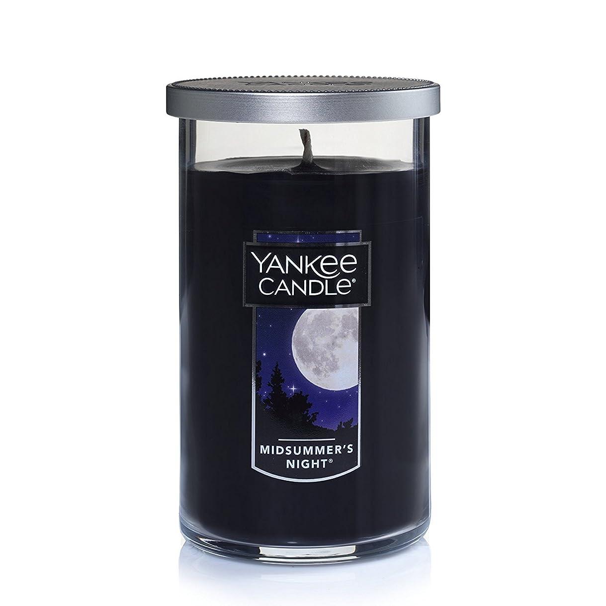 堀数学的な不信Yankee Candle Midsummer 's Night Medium single-wickタンブラーCandle
