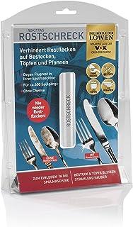 Rokitta's Rostschreck aluminio Pack de 1 unidad   Evita el óxido de cubiertos y ollas   Cuchillos, tenedores y cucharas radiantes   sin agentes químicos