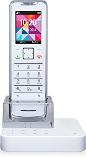 Motorola IT.6.1T Impossibly Thin Digital Cordless Telephone with Nuisance Call Blocking, Answer Machine and Bluetooth Mobi...